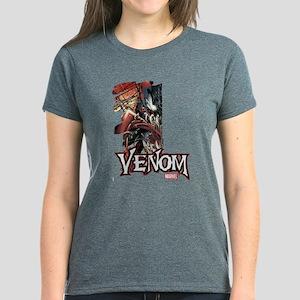 Venom Half Women's Dark T-Shirt