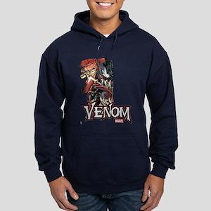 Venom Half Hoodie (dark)