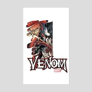 Venom Half Sticker (Rectangle)