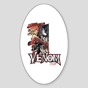 Venom Half Sticker (Oval)
