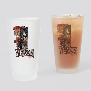 Venom Half Drinking Glass