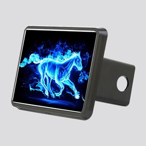 Flamed Horse Hitch Cover