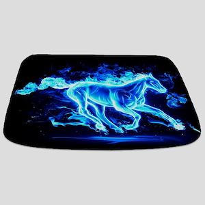 Flamed Horse Bathmat