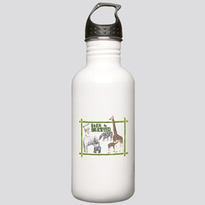 Born to breastfeed Water Bottle