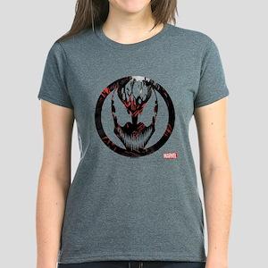 Carnage Logo Women's Dark T-Shirt