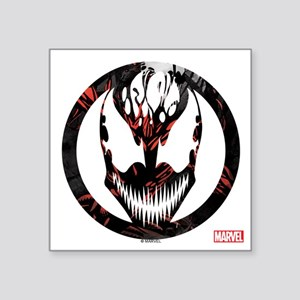 "Carnage Logo Square Sticker 3"" x 3"""