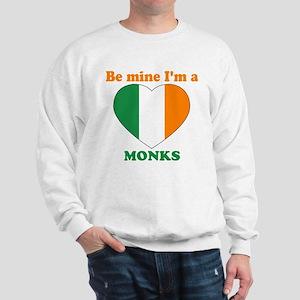 Monks, Valentine's Day Sweatshirt