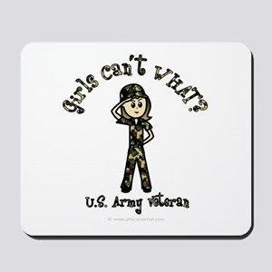Light Army Veteran Mousepad