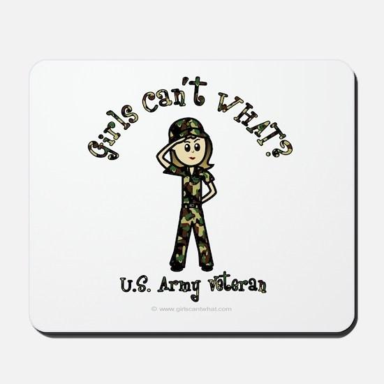 Light Army Veteran Mousepad