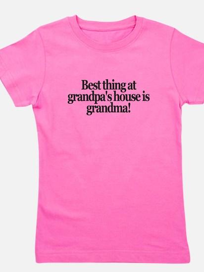 Best Thing at Grandpas Girl's Tee