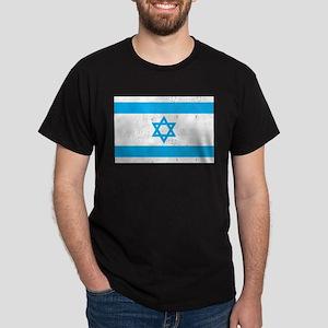 Israel Flag - Magen David Dark T-Shirt