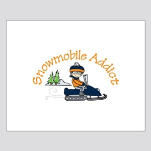 Snowmobile Addict Posters