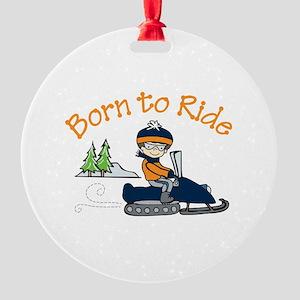 Born to Ride Ornament