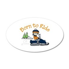 Born to Ride Wall Decal