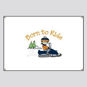 Born to Ride Banner