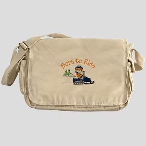 Born to Ride Messenger Bag