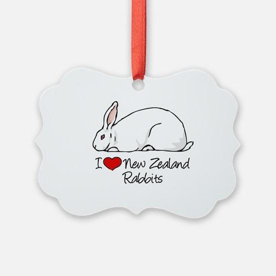 Cute Bunny rabbit Ornament