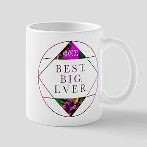 Phi Sigma Sigma Best Big 11 oz Ceramic Mug