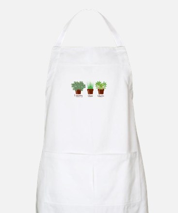 Rosemary Chives Apron