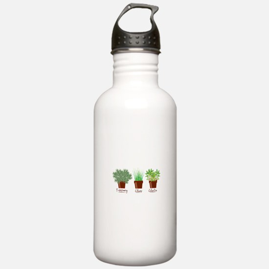 Rosemary Chives Water Bottle