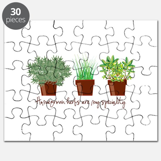 Homegrown Herbs Puzzle