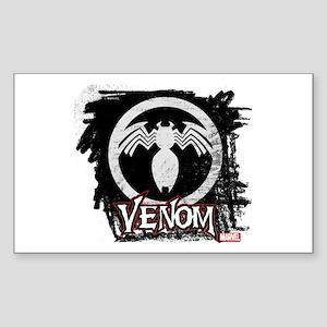 Venom Chalk Sticker (Rectangle)