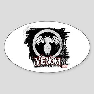 Venom Chalk Sticker (Oval)