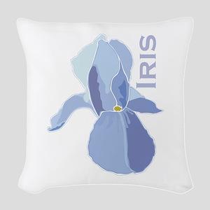 Iris Woven Throw Pillow