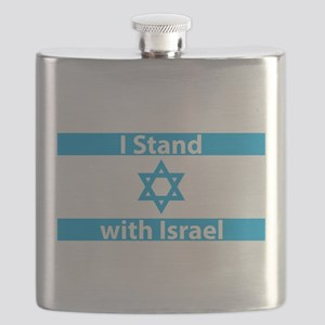 I Stand with Israel - Flag Flask