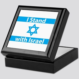 I Stand with Israel - Flag Keepsake Box