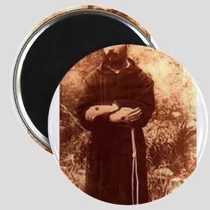 Youg Padre Pio Magnets