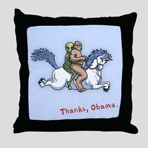 Thanks Obama! Throw Pillow