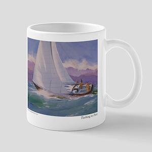Tacking to Port Mug