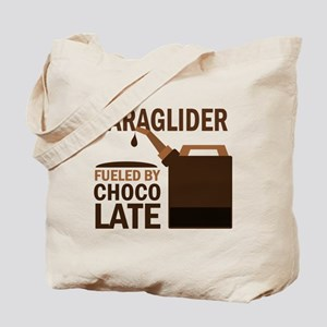 Paraglider Fueled by chocolate Tote Bag