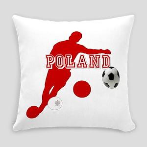 Polish Soccer Player Everyday Pillow