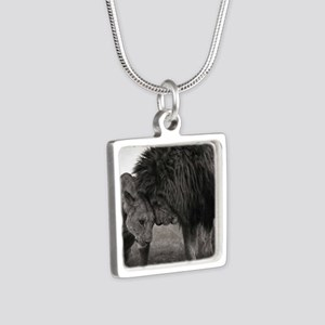 the Lion and Lioness Necklaces