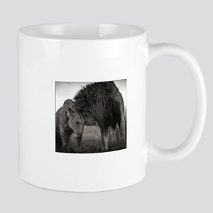 the Lion and Lioness Mugs