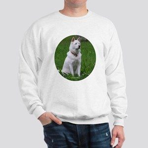 White Dog Sweatshirt