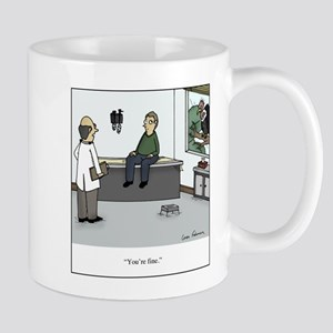 Vulture at Doctor 11 oz Ceramic Mug