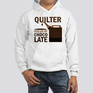 Quilter Fueled by chocolate Hooded Sweatshirt