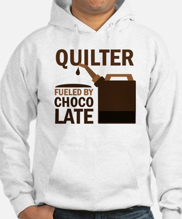 Quilter Fueled by chocolate Hoodie