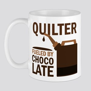 Quilter Fueled by chocolate Mug