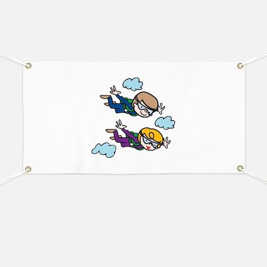 Skydiving Kids Banner