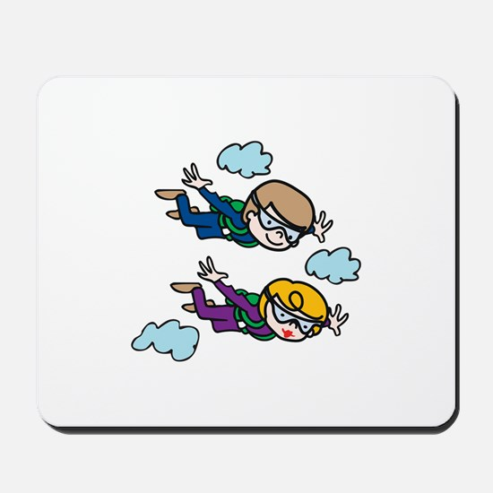 Skydiving Kids Mousepad