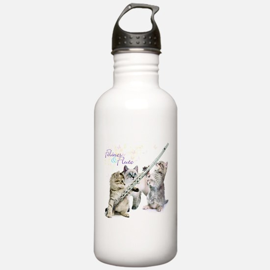 Felines Flute Water Bottle
