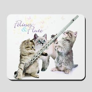 Felines Flute Mousepad