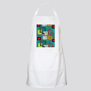 Mid-Century Modern Abstract Apron