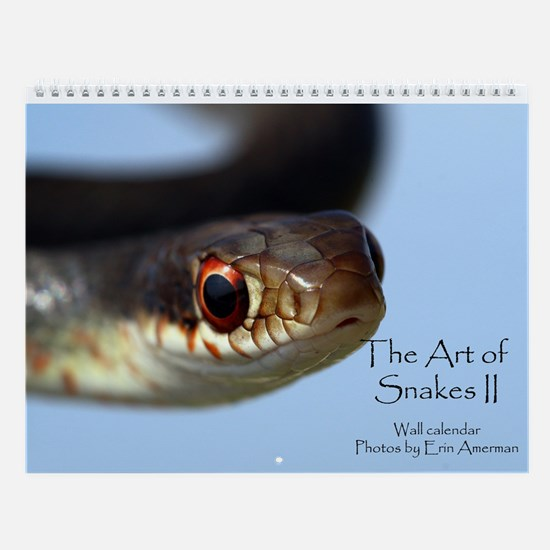 The Art Of Snakes 2, Wall Calendar - New!