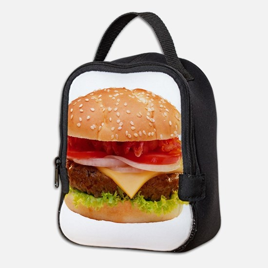 Cute Food and drink Neoprene Lunch Bag