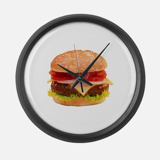Unique Food and drink Large Wall Clock